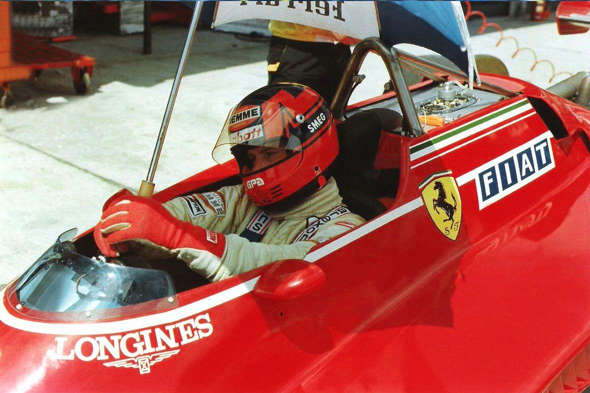 Gilles Villeneuve, Ferrari 126C2, 1982 Brazilian GP, Rio de Janeiro