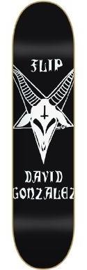 Flip Skateboard Gonzalez Satanic Goat skateboard deck by Flip  8.0