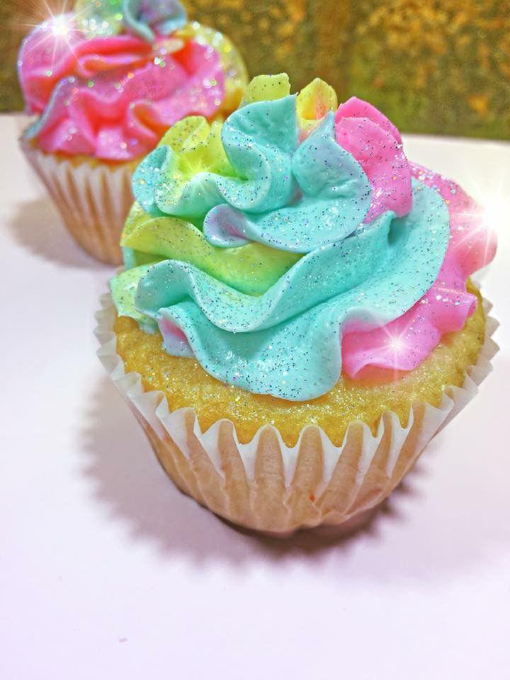 Edible glitter cupcake glitter cupcakes dessert shop