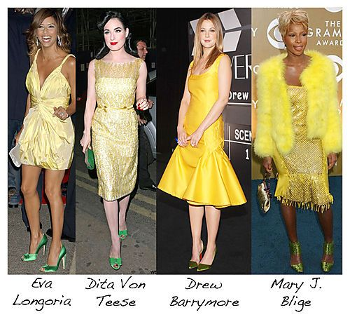Color of shoes to wear with yellow dress | My best dresses ...