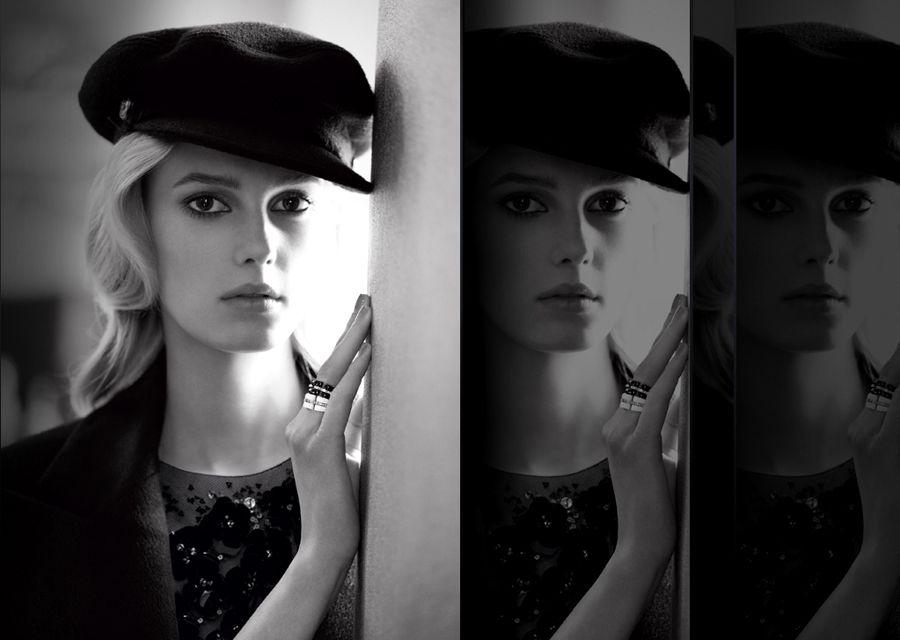 Chanel Ultra Rings, charme black & white
