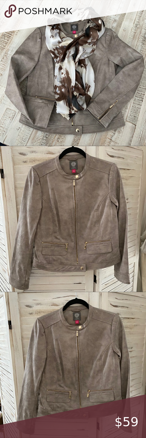 Vince Camuto Moto Jacket Small In 2020 Clothes Design Moto Jacket Vince Camuto [ 1740 x 580 Pixel ]
