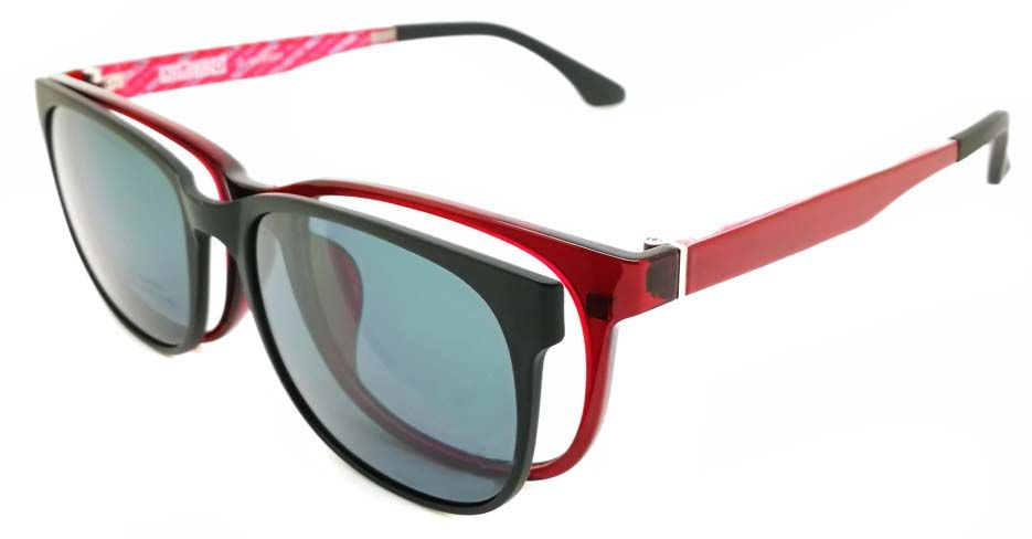 915cf5e1ee On macoptical.com you can find prescription glasses with magnetic clip on  sunglasses