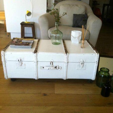 spring parenth se vintage table basse en voyage pinterest malle table basse mobilier. Black Bedroom Furniture Sets. Home Design Ideas