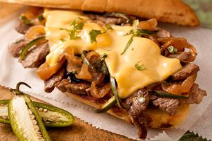 Garlic Bread Steak Sandwich recipe