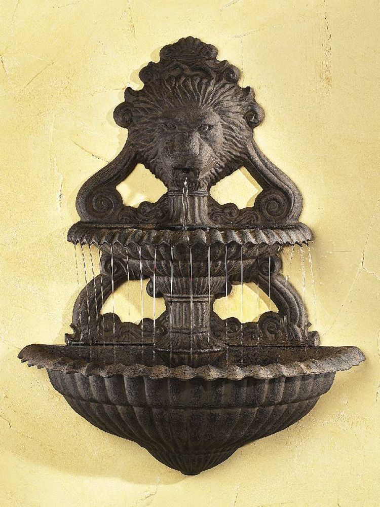 Tiered Outdoor Hanging Wall Fountain: Ladybug/CPI: Two Tier Hanging ...