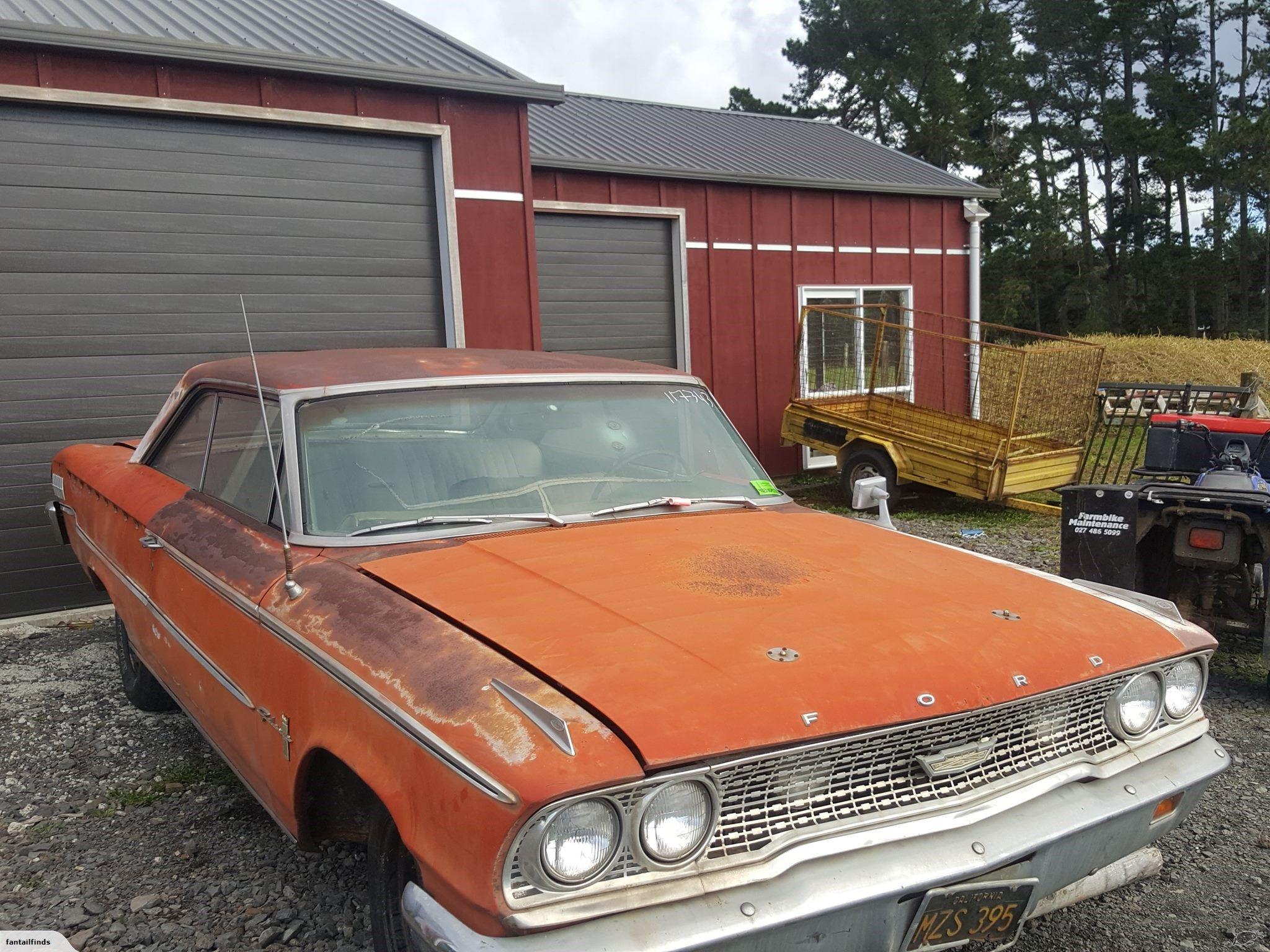 Ford Galaxie 1963 Trade Me Ford Galaxie Barn Find Cars Galaxie
