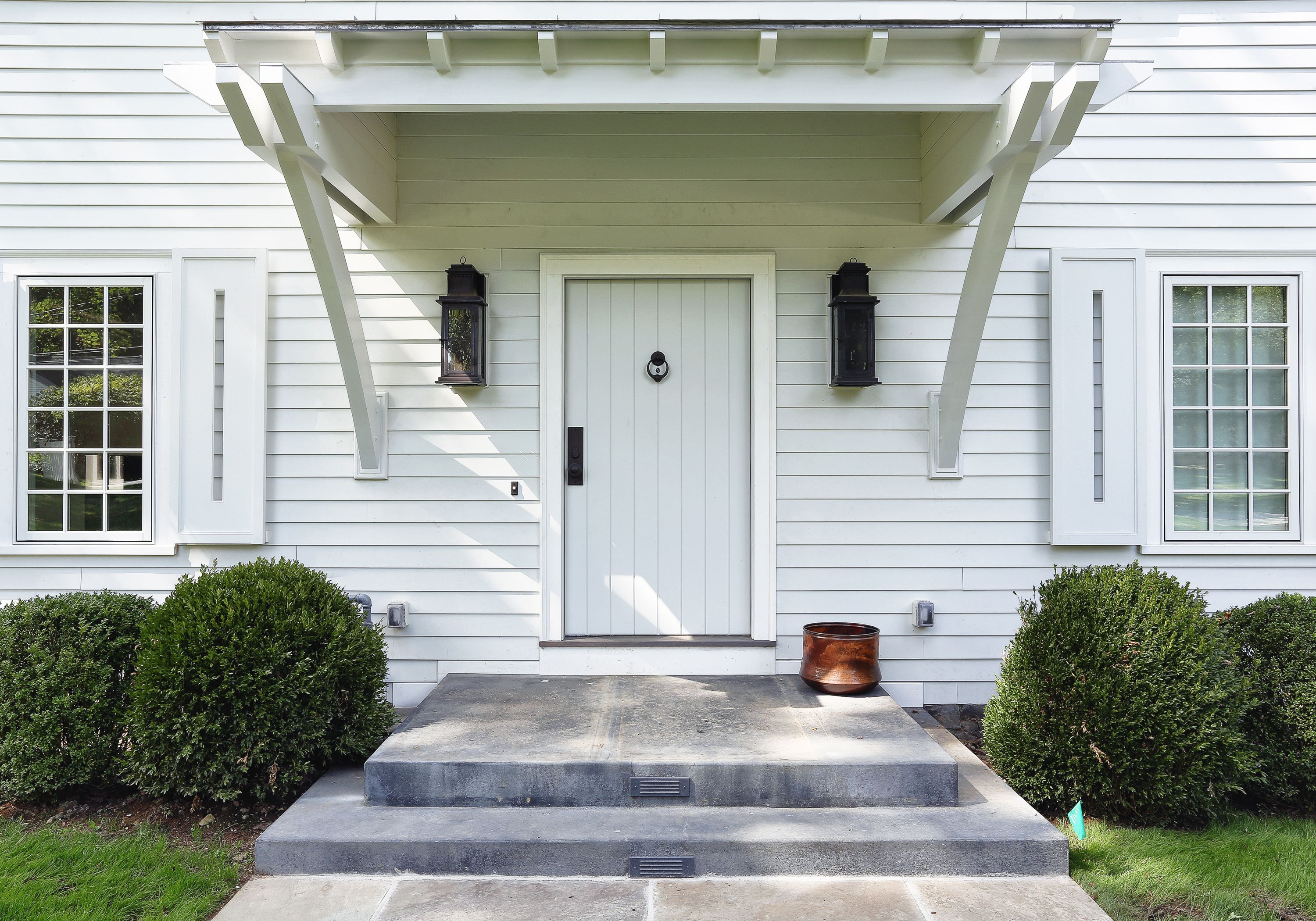 Upstate Door Makes Custom Exterior Flush Doors With V Grooves Using