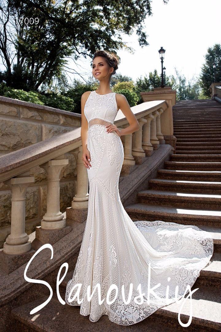 9a7042a7a1e Купить свадебное платье-рыбка айвори Luchia от Slanovskiy