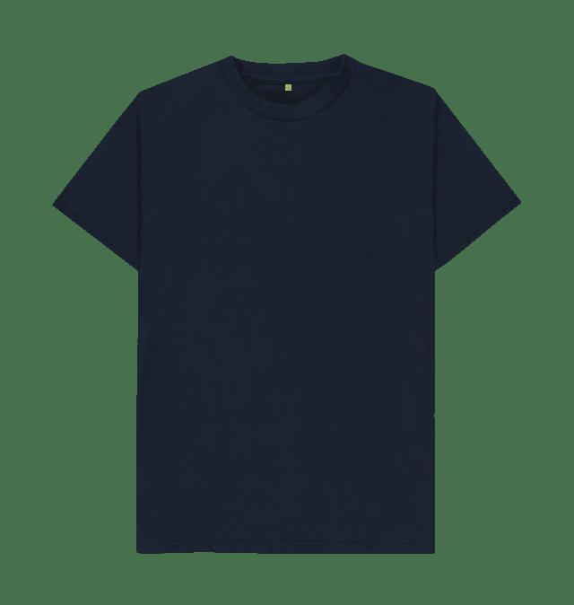 Navy Blue Plain Organic T Shirt Shirts Plain Black T Shirt Black Tee Shirts