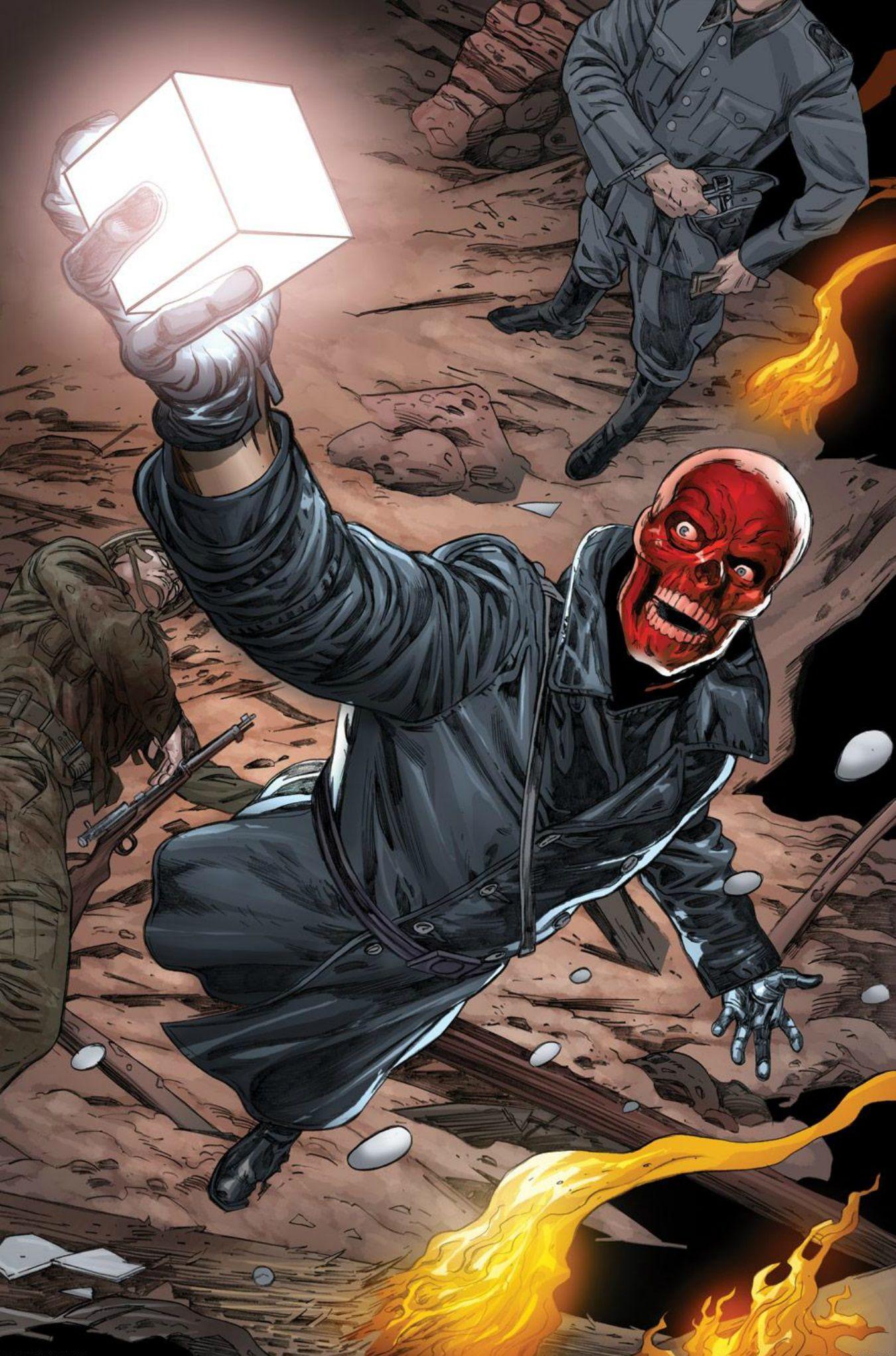 Red Skull Meme Endgame