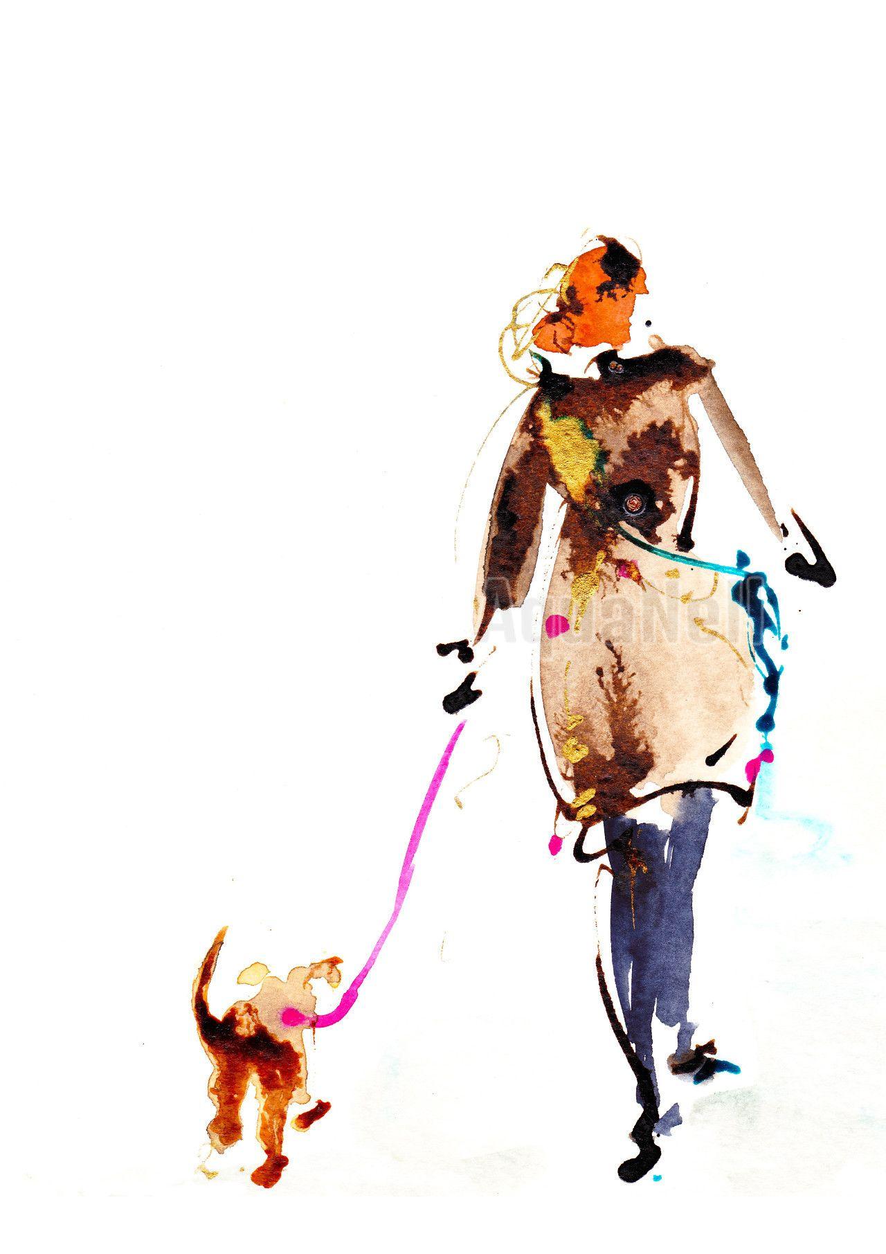 Peinture Aquarelle Mariage Pour Decorer Best Friend Watercolor