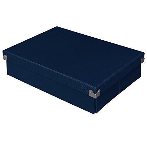 Decorative Document Boxes Pop N Store Decorative Storage Box With Lid Collapsible And