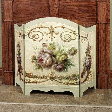 Fireplace Screen Victorian Victorian Rose Fireplace Screen Multi
