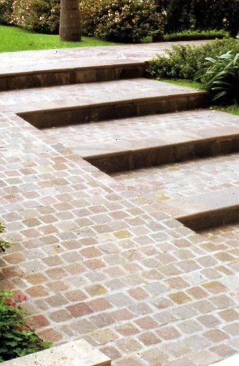 jardin pinterest adoquines pisos y pavimento