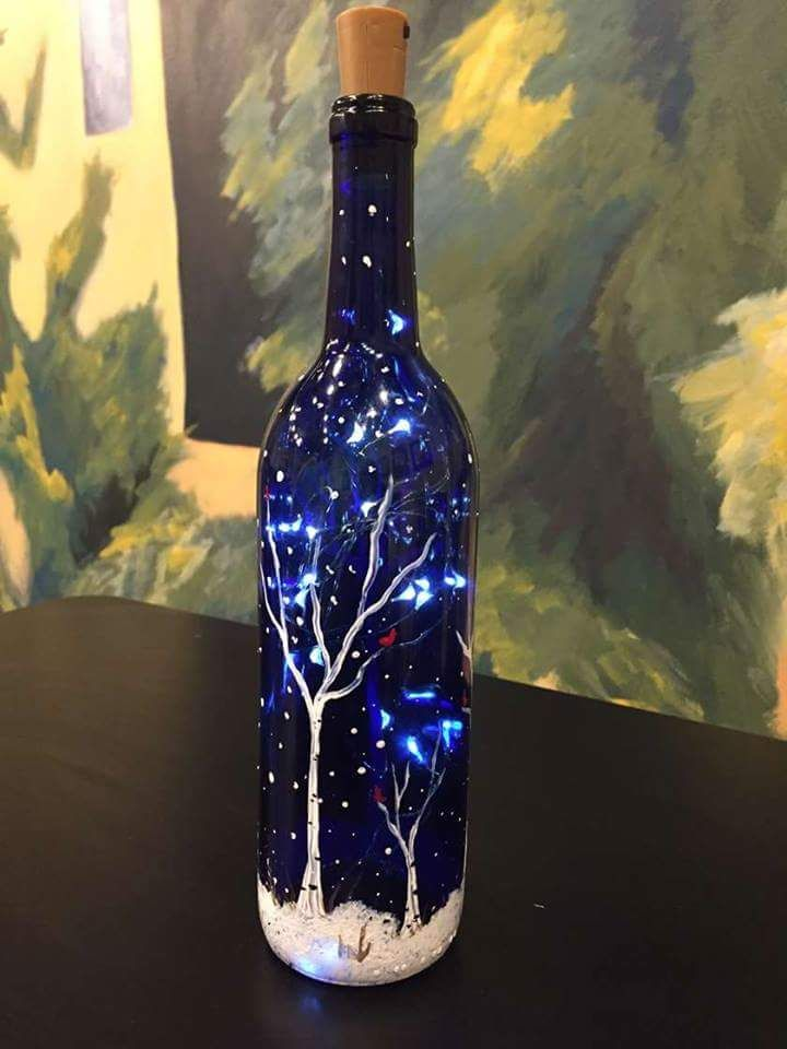 70 Adorable Wine Bottle Painting Ideas For Diy Home Decor Glass Bottle Crafts Wine Bottle Diy Crafts Diy Bottle Crafts