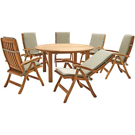buy kettler vancouver 6 seater outdoor dining set online at johnlewiscom - Garden Furniture Kettler