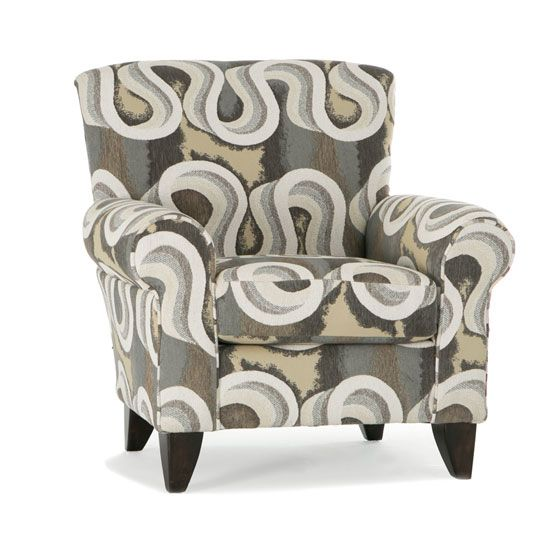 Carson Living Room Collection Accent Chair In Coachella