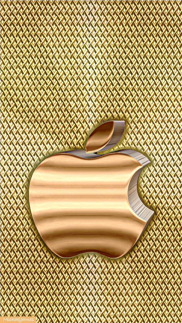 Golden Apple Gold Screen Apple Iphone 5s Hd Wallpapers Available For Free Download Apple Wallpaper Apple Wallpaper Iphone Apple Logo Wallpaper Iphone