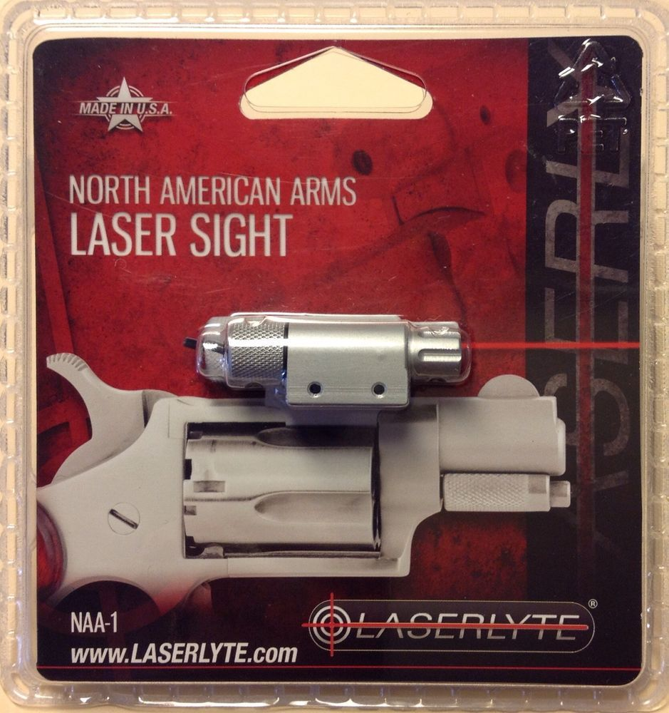 North American Arms Laser Sight NAA-1 LASERLYTE Red   GRUBSTAKE GUNS