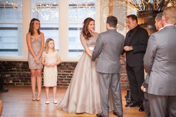 North Carolina Loft Wedding From Events By La Fête