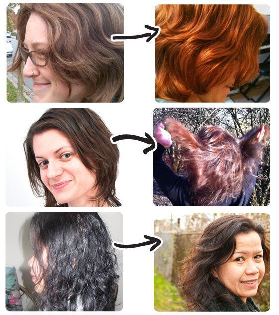 Stories Lush Hair Coloring And Lush Cosmetics