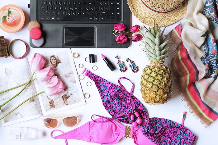 Fashion and style: Bikinis and pineapples