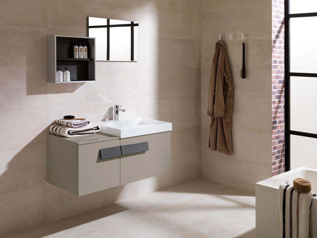 Bathroom furniture PORCELANOSA Grupo showcases a wide