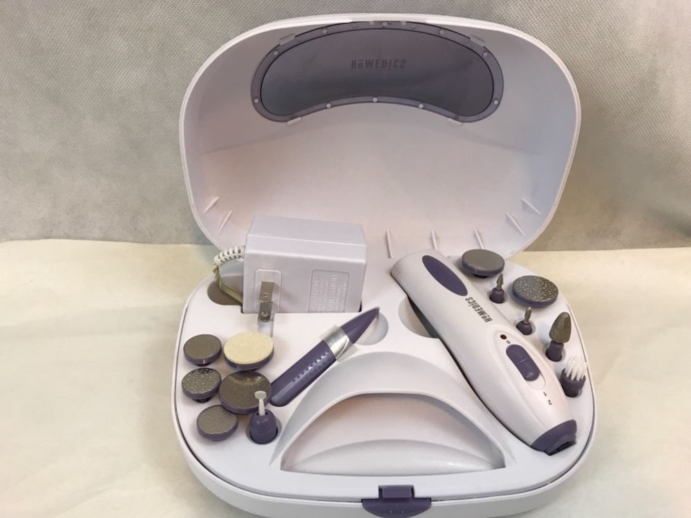 HoMEDICS Style Spa Deluxe Manicure Pedicure System With Nail Dryer ...