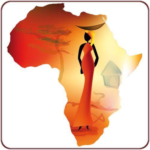 Africa bonjour la plan te hello world africa - Dessin paysage africain ...