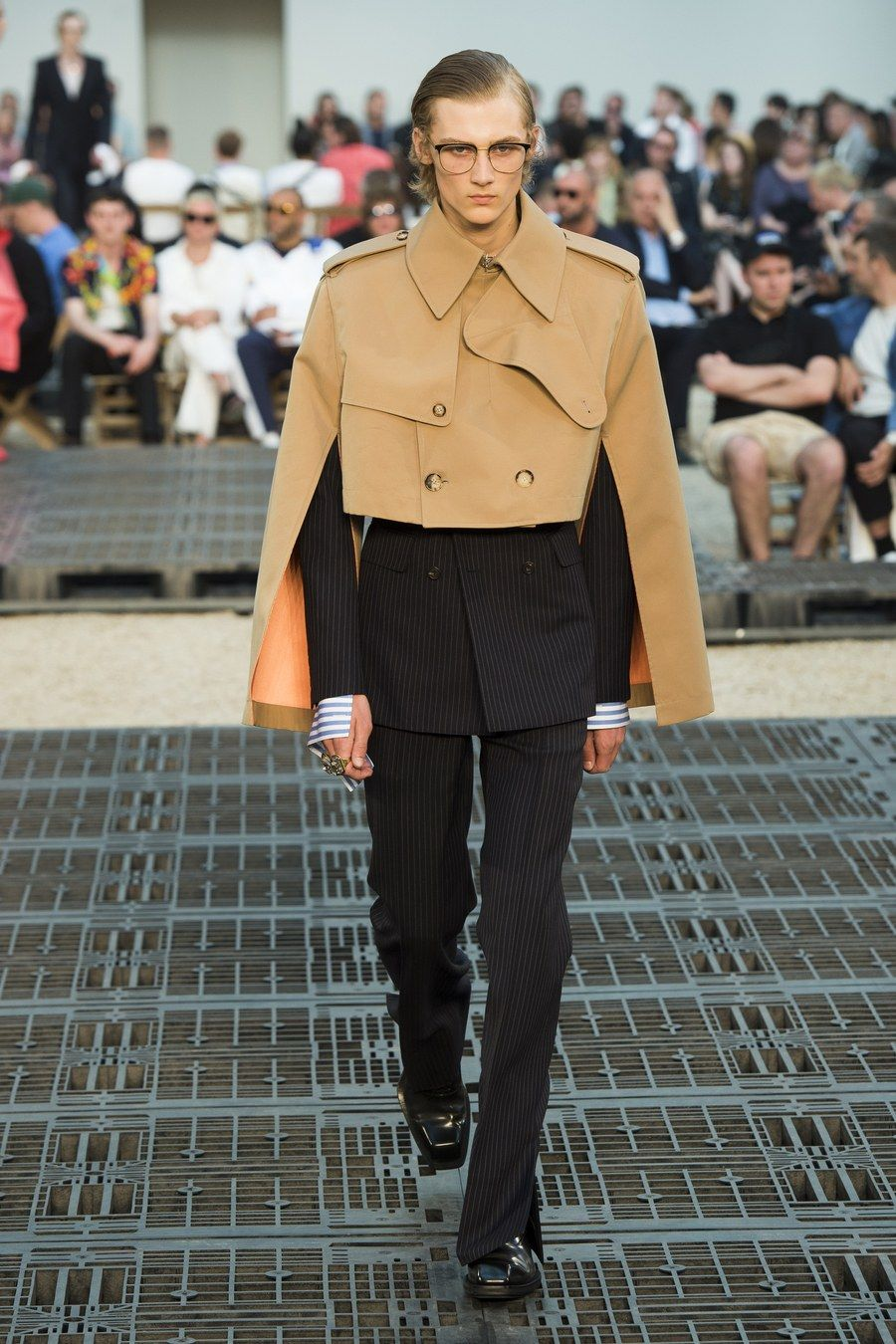 Alexander McQueen Spring 2019 Menswear Fashion Show