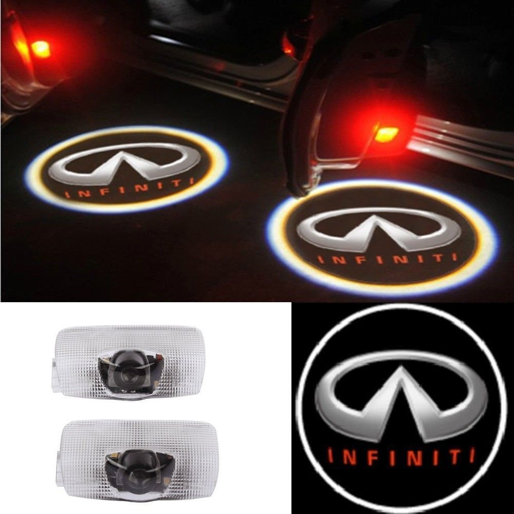 Logo Projector Car Door Welcome Light Led Lamp Courtesy Ghost Wiring Diagram For Shadow 2 Pc