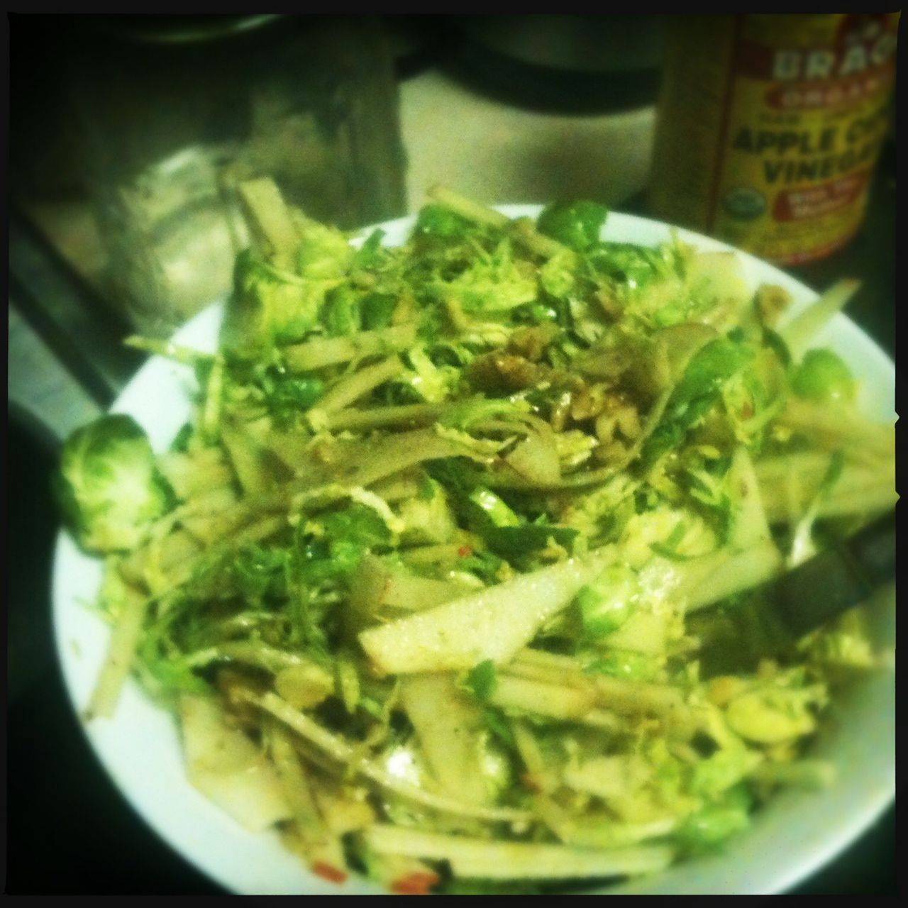 Andrea's Real Food Kitchen: This Salad Will Convert You to Raw Brussels Sprouts