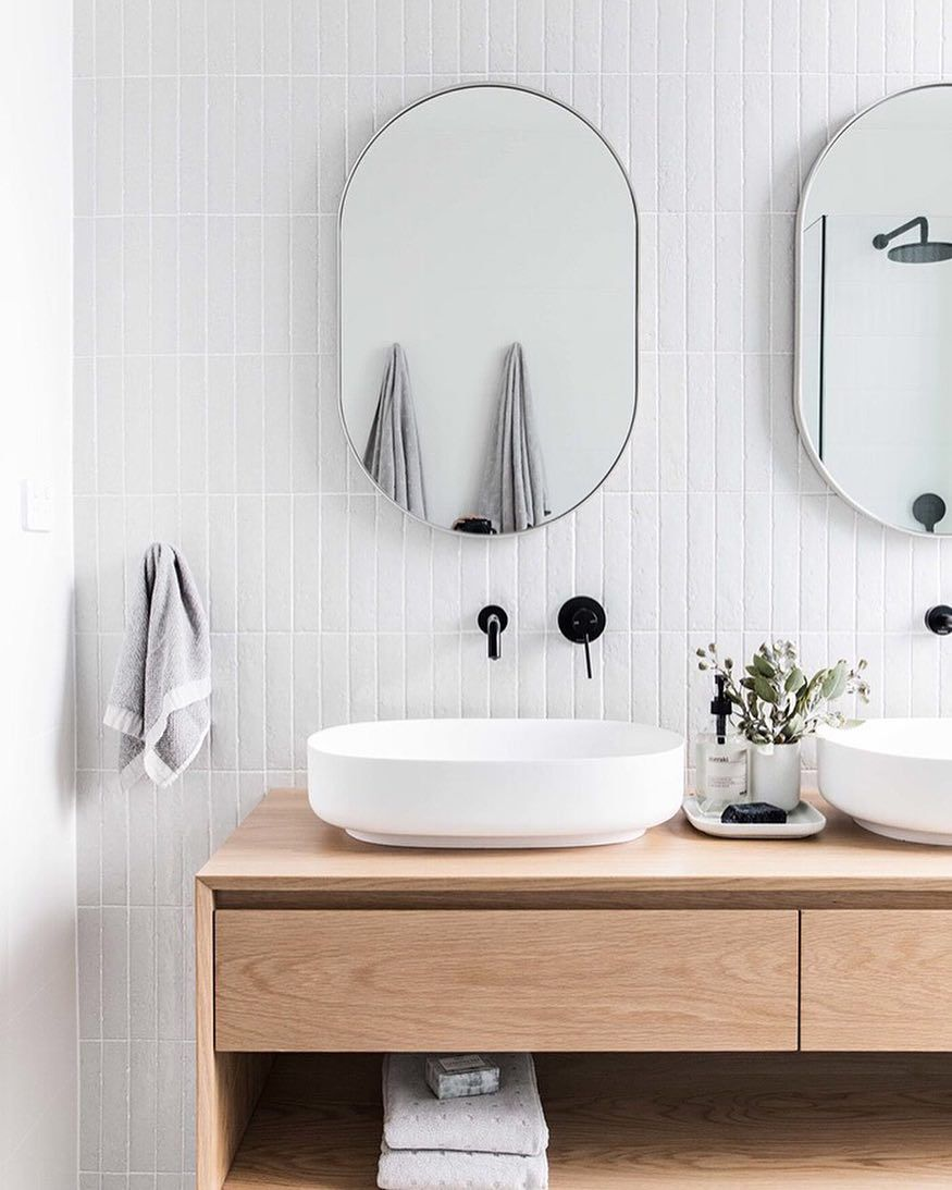Thenew Nz On Instagram Morning Happy Monday To Ya This Babe Bathroom Designed By The Stables With Images Bathroom Interior Scandinavian Bathroom Laundry In Bathroom