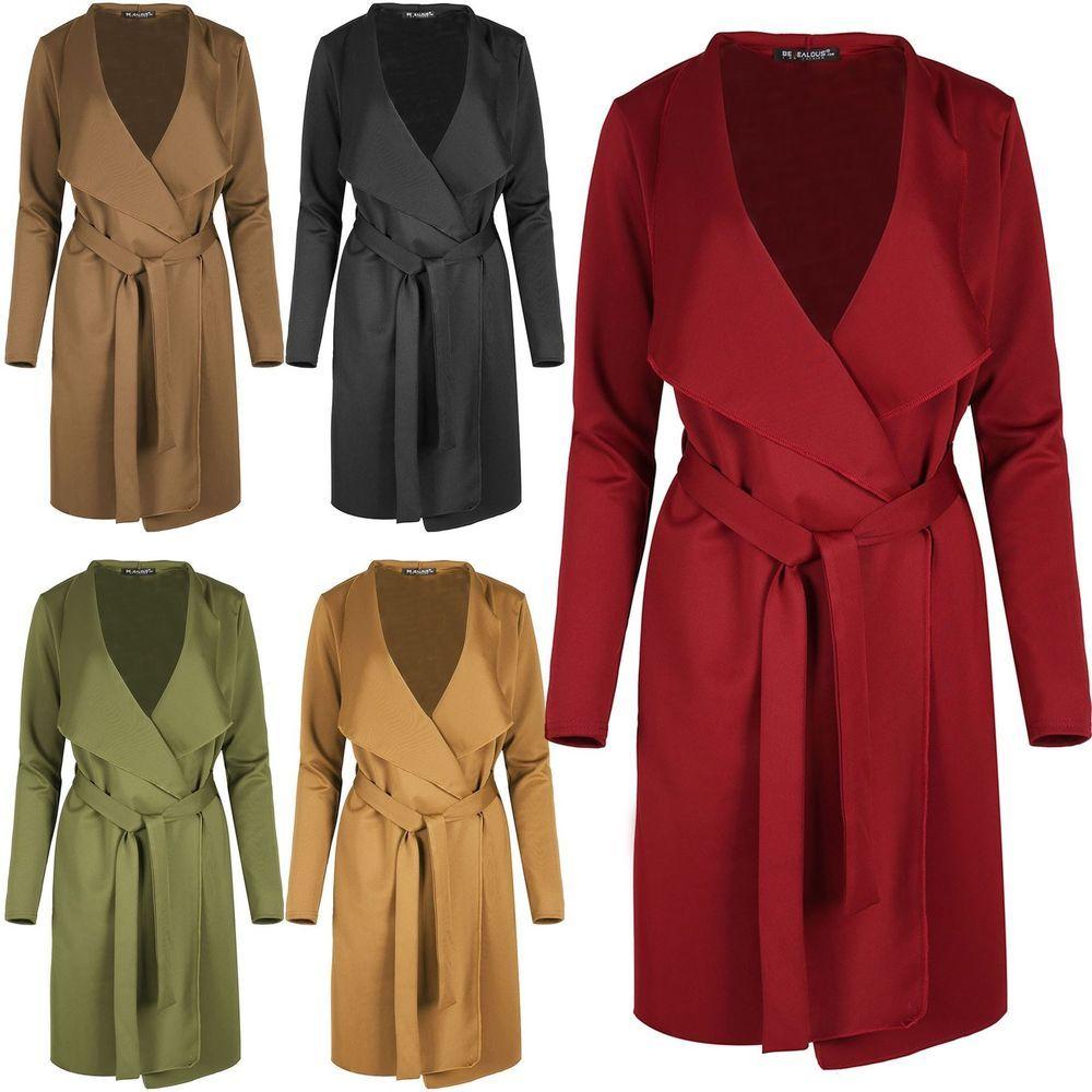 Ladies Long Jacket M&s Size 10 Clothing, Shoes & Accessories Coats, Jackets & Vests