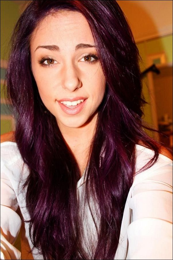 plum brown hair color light plum brown hair color