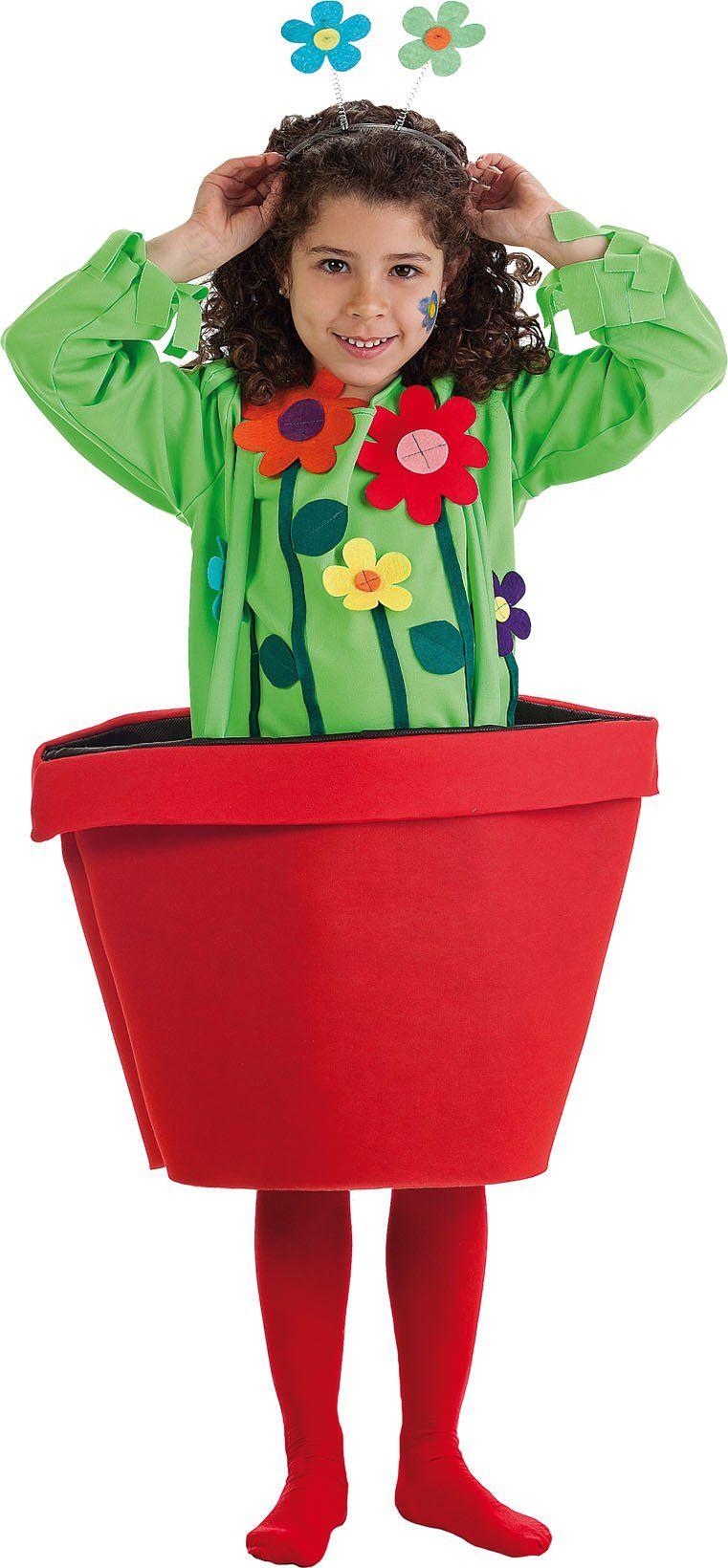 Blumen im blumentopf kost m dress up costumes for Blumentopf verkleidung