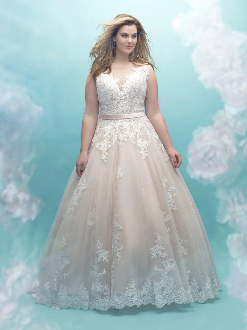 Robes de mariée pour femmes rondes : mettez en valeur vos courbes ...