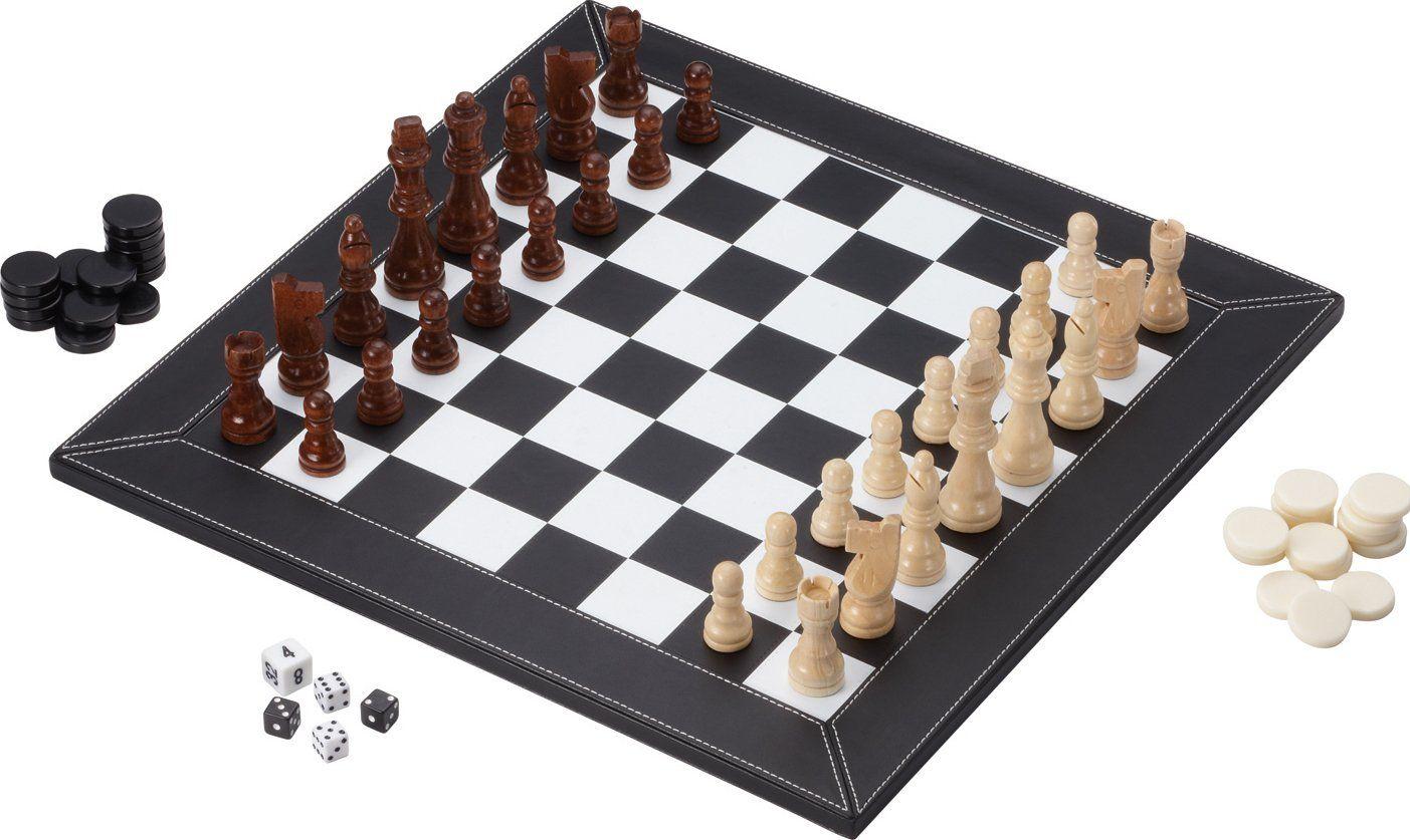 Mainstreet classics bourbon street 3in1 combo board game