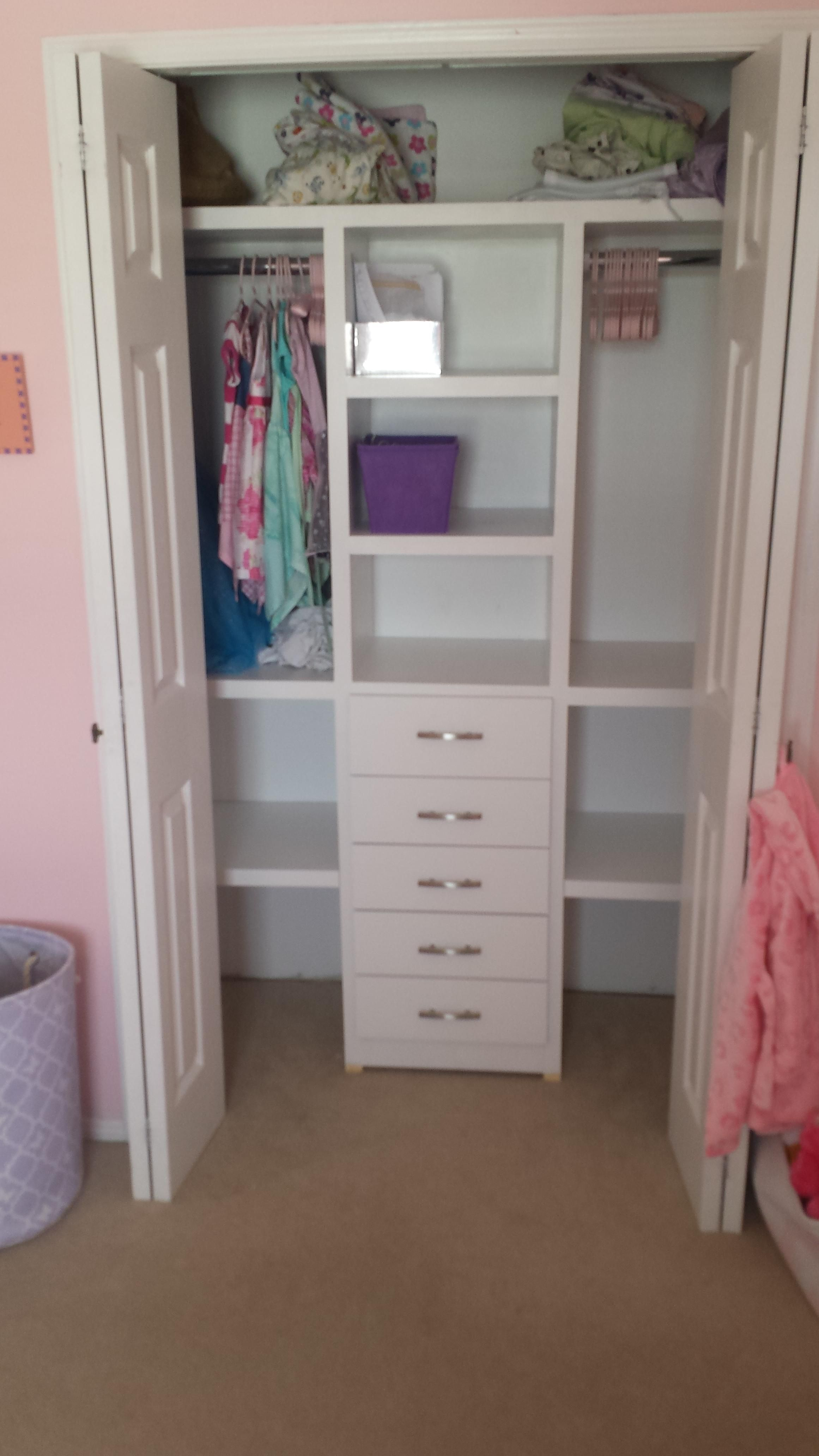 First inside project.....massively overbuilt closet ...
