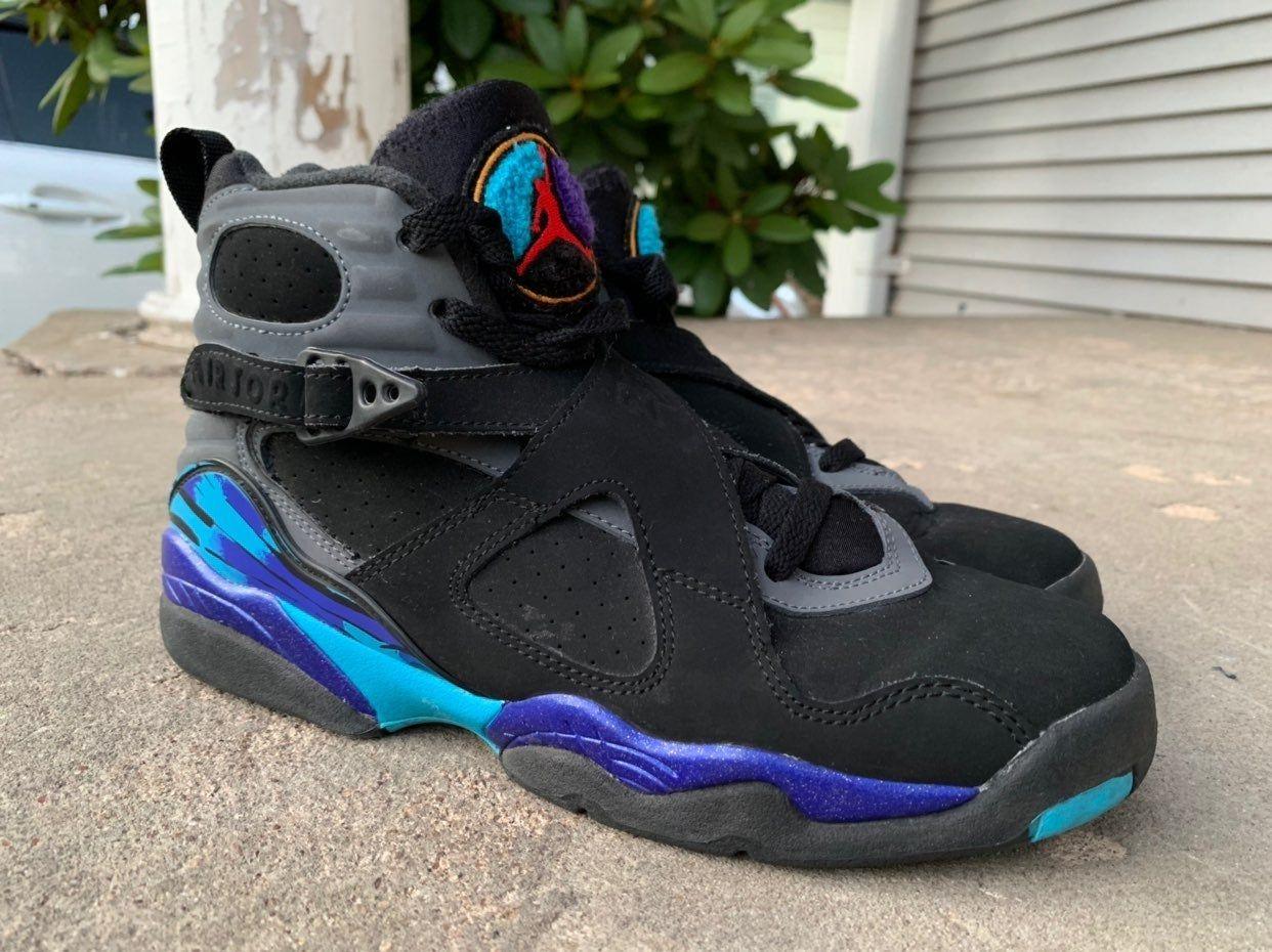 Air Jordan Aqua 8s size 6.5Y or Women's
