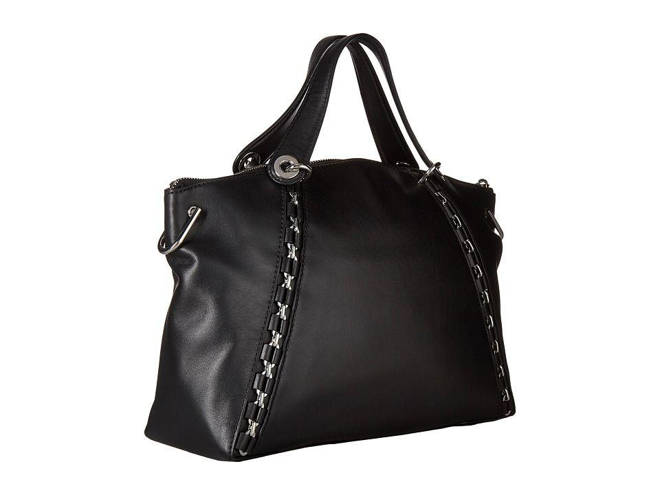0b7405d57f2a MICHAEL Michael Kors Sadie Large Top Zip Satchel Handbags Black ...