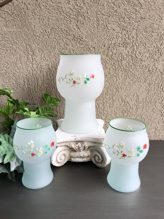 Pfaltzgraff Heirloom Grey White Flower candlesticks 1 3 2 4 Choose Quantity