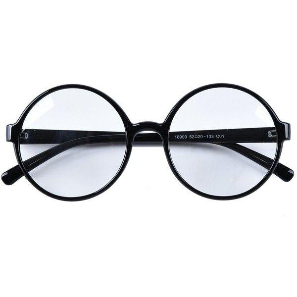 Apparel Accessories Liva Girl Fashion Retro Round Circle Metal Frame Eyeglasses Clear Lens Eye Glasses Unisex 6colors For Choose Women's Sunglasses