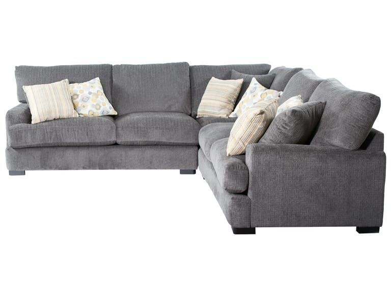 Dele Furniture Three Piece Sectional Dele1215 Upholstered