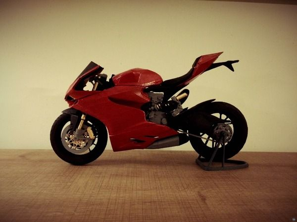 3D printed Ducati 1199 Superbike
