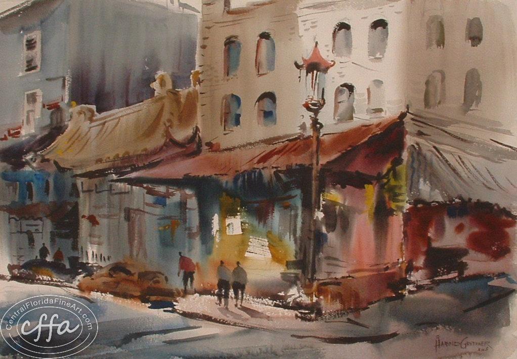 Chinatown Harold Gretzner 1902 1977 Gretzner Was A Prolific