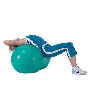 green peanut fitness ballsivan on zulily  ball exercises