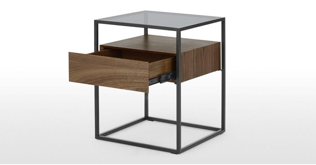 Epingle Par Ludmila Espiaube Sur Home Table De Chevet Table Verre Fume