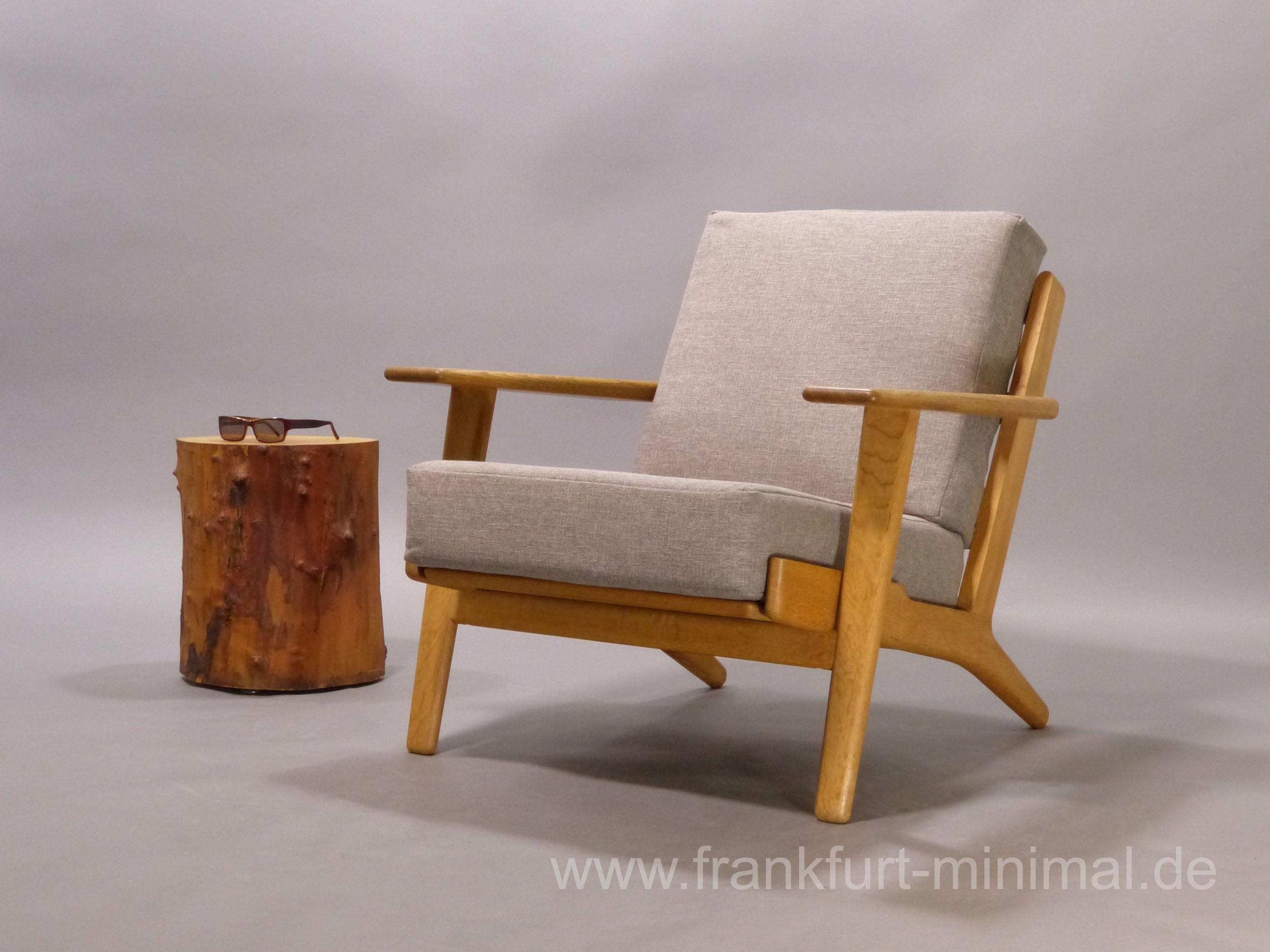 Wegner Sessel hans j. wegner für getama sessel ge 290 design 1953 original aus den